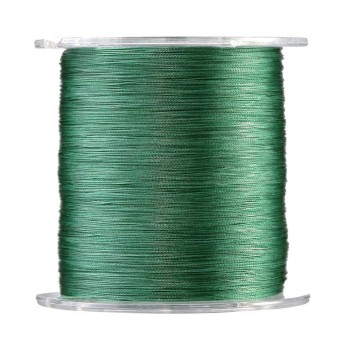 500m PE Braided 4 Strands Super Strong Fishing Lines Multi-filament Fish Rope Cord Green (1) - intl