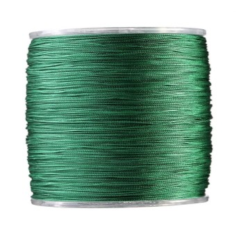 500m PE Braided 4 Strands Super Strong Fishing Lines Multi-filament Fish Rope Cord Green (2) - intl