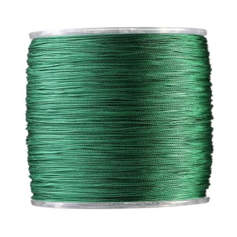 500m PE Braided 4 Strands Super Strong Fishing Lines Multi-filament Fish Rope Cord Green (8) - intl