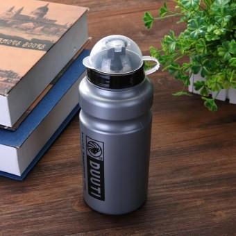 500 Ml Olahraga Sepeda Sepeda Bersepeda Olahraga Minuman Botol Air (Abu-abu)-
