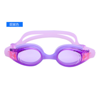 Anak laki-laki tahan air HD renang anti-kabut kaca mata anak-anak