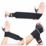 AOLIKES 2 Pcs/lot Sports Wrist Bands Wrist Support Strap Pembungkus Tangan Sprain Recovery Gelang ...