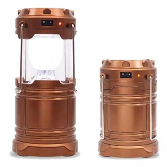 Askhev Lampu Emergency Lentera Solar - Emergency Camping Lamp Power Bank - Multicolor