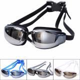 ... Beauty Kaca Mata Renang Santai Swimming Goggles Mirror Anti Fog UV Shield Safety Swimming Goggles With ...