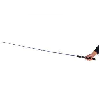 Bellamall Telescopic Fishing Rod Spinning Portable Lure Section Feeder Sea Fish Pole 1.2M - intl