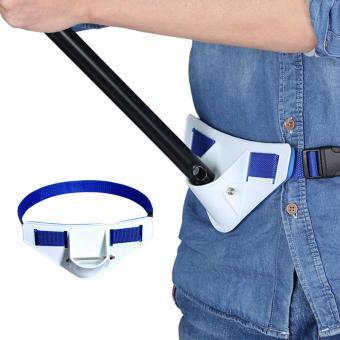 Tahan Lama Memancing Perkelahian Sabuk Pinggang Rod Pole Holder Foam Pad Belt Tackle Kit Aksesori-