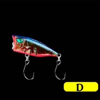 Pancing Umpan POPPER 3 Cm 4G Kecil 3D Mata Manusia Hidup Bait Mini Wobbler Isca Poperr