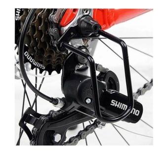 Kualitas Tinggi Universal Bersepeda Jalan Gunung Sepeda Pemindah Gigi Belakang Sepeda Penjaga Rak Pelindung Hitam