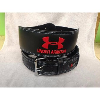 Harga StarStore Sabuk Gym Under Armour Fitness Safety Belt Semikulit Olahraga Weightlifting