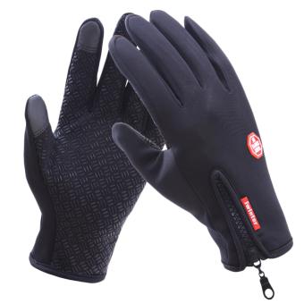 Harga Pria wanita naik sepeda motor layar sentuh musim dingin sarung tangan tahan .