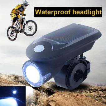 Sepeda Tenaga Matahari Sepeda Memimpin USB Isi Ulang 24 Cahaya Kepala Lampu CS343