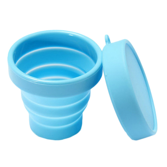 Harga Velishy Portable Silicone Retractable Folding Cup