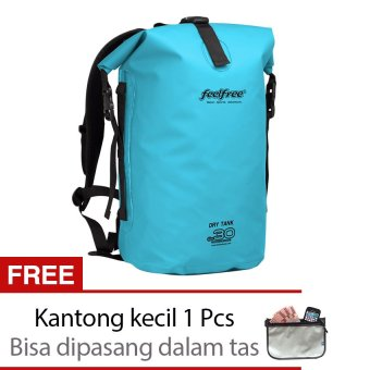 Harga Feelfree Dry Tank 30 L Sky Blue - Tas Anti Air - Dry bag - Biru