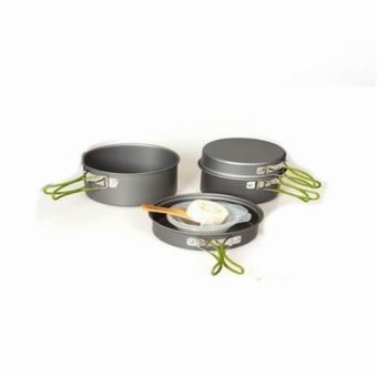 Harga DSC Cooking Set DS 301 Camping Hiking Out Door Hitam .
