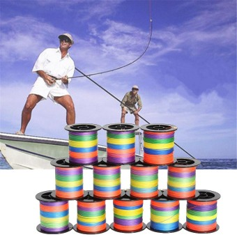 Harga 100M Super Strong Dyneema Spectra PE Braided Sea Fishing Line 0.8# - intl