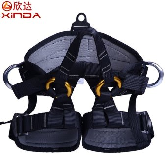 Harga RC69 Xinda Outdoor Rock Climbing Mountaineering Rappelling Equipment Aerial Work Safety Belt Seat Belt Bust Waist Leggings - intl