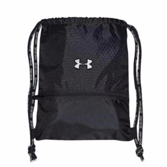 Harga MURAH! Under Armour Drawstring Bag / Tas Olahraga Under Armour - HITAM