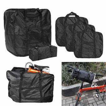 Mountain Bicycle Bike Folding Carrier Bag Carry Cover for Dahon Holder 80 * 62 * 33cm