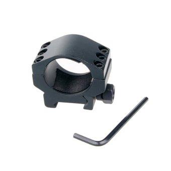 Velishy Six Bolts Heavy Duty 30mm Scope Mount Ring Intl .
