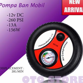 Harga Kompresor Angin | Portable Motorcycle Tire Air Portabel 12V Portable New