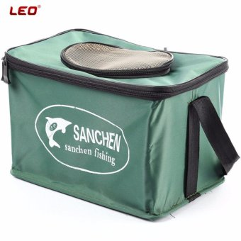 Folding Live Fish BOX Plastic Carp Rod Bucket Water Tank Water Box Bag Container Bucket Fishing