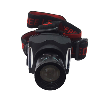 Flashlight Head Lamp Lampu Senter Kepala ZB5901 - Hitam