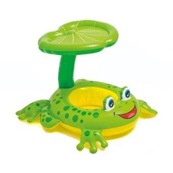 Intex Baby Float with kanopi 56584 / Ban duduk Baby Intex / Ban renang