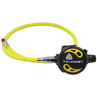 Harga EZDIVE 30 Bar 96cm Scuba Diving Nylon Braided Low Pressure Hose for Second Stage Octopus Regulator (Yellow)