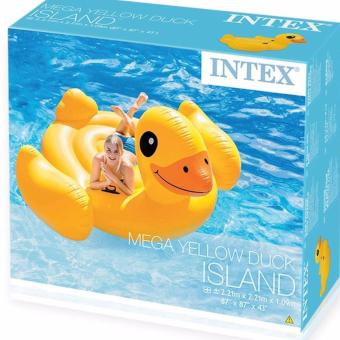 Intex Mega Yellow Duck Rideon Island 56286