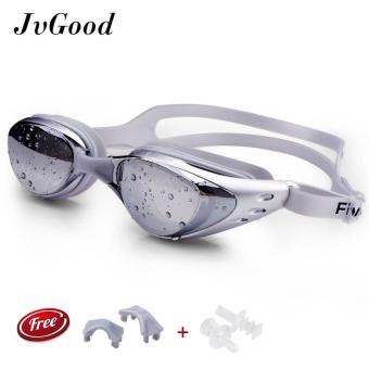 JvGood Kacamata Renang Dewasa Bebas Fogging Anti Sinar UV Berenang Lensa