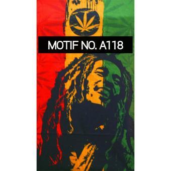 KMBuff Headband Bandana Masker Serbaguna Motif Bob Marley A118