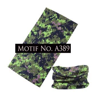 KMBuff Headband Serbaguna Motif Army A389