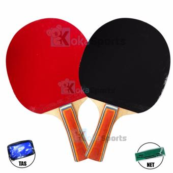 Kokasports Racket Bet PingPong Tenis Meja 1 Set