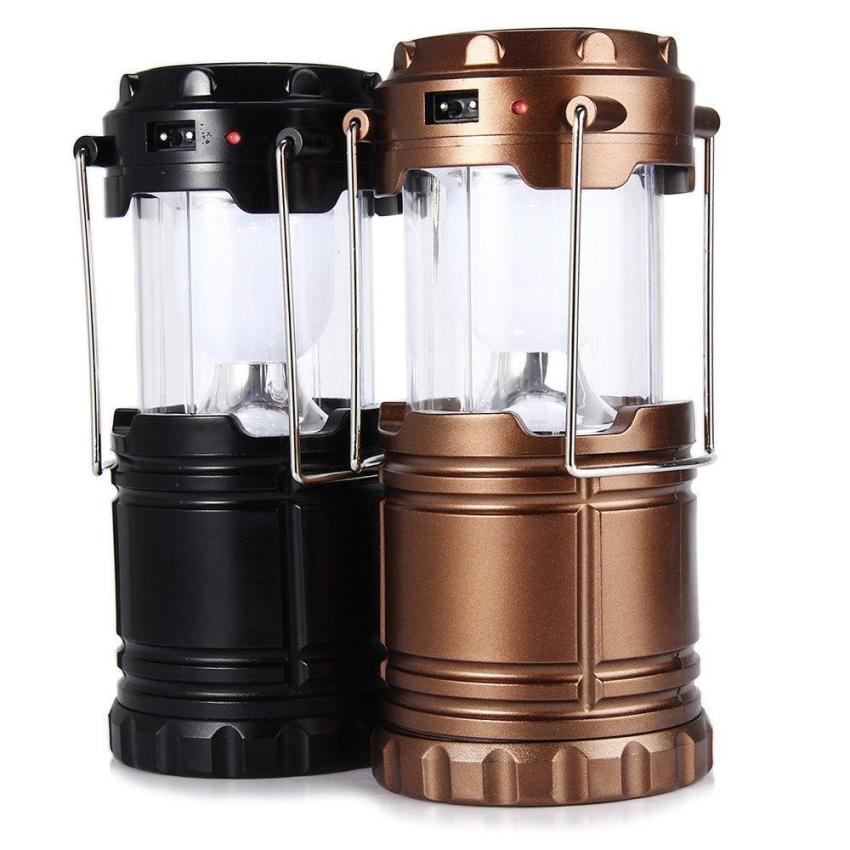 ... Lentera camping Rechargeable dengan Senter Zoom (Dapat diatur)/ Lampu Camping Tenaga Solar ...