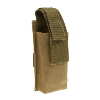 MagiDeal Outdoor Tactical Tourniquet Pouch with Medical Shears Slot Khaki - intl