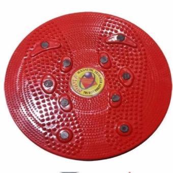 Magnetic Trimmer Pelangsing Tubuh Jogging Body Plate - Merah