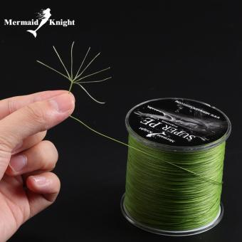 MermaidKnight Super PE 300 M 8 Wire Multifilament Line Lure Braided Cord untuk Fishing Linha De