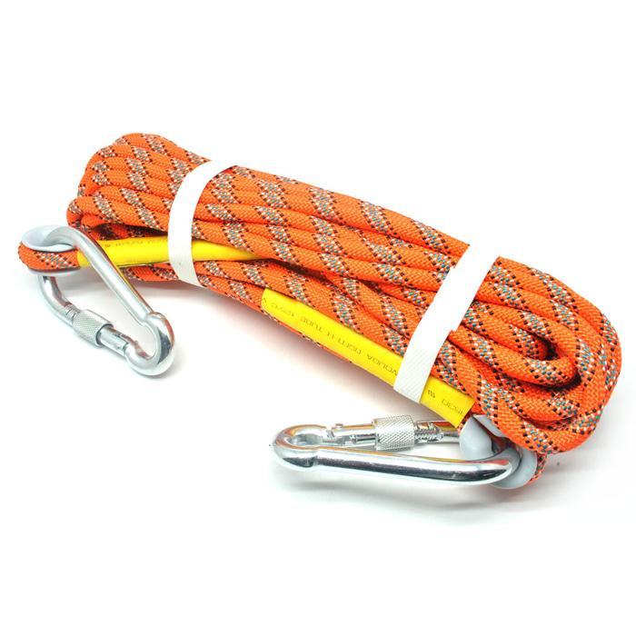 NTR Tali Panjat Tebing Rappelling Safety Climbing Rope 10 Meter