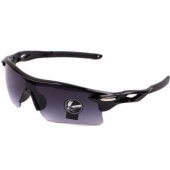 Ormano Sport Outdoor UV400 Protection HM Sunglasses - Hitam