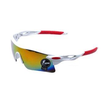 Bersepeda sepeda Eyewear lensa kacamata hitam luar ruangan #6