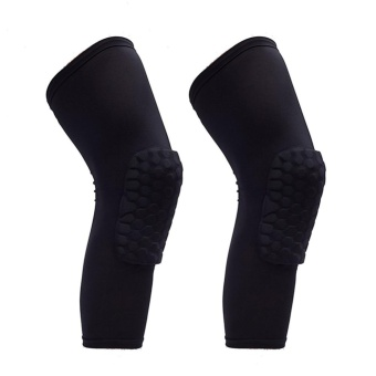 PAlight 2 Pcs Knee Support Pads Leg Sleeve Protective Pad Outdoor Guards(Size:L) - intl