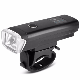 Rechargeable 350LM USB LED Bicycle Bike Flashlight Lamp MTB Front Bicycle Cycling Light Headlight Headlamp Bike