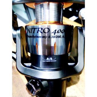 Reel X Battle Nitro 4000DX Spinning Aluminium Spool