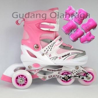 Review Sepatu Roda Anak Bajaj Murah Sepatu Inline Skate Lampu Dan ... 2b0e4d3298