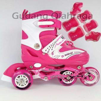 Jual  flash Sale  Sepatu Roda Anak Inline Skate Power Model Bajaj ... 0864e68122