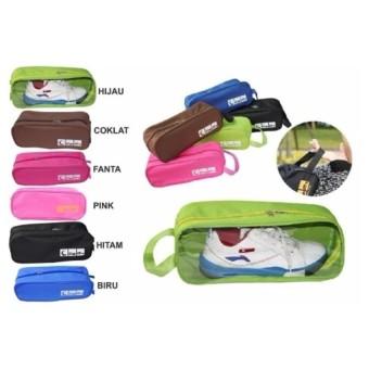 Tas Sepatu Olahraga Fitnes GYM Sport Shoes Bag Organizer - Random Color