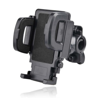 Trend's Stand Sepeda - 360' Universal Bicycle Mount Bike Mount Phone Holder - Hitam