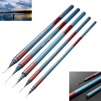 Ultralight Glass Fiber Stream Pole Telescopic Fishing Rod Freshwater 3.6m - intl