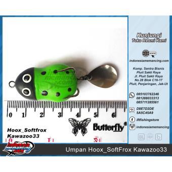Umpan Mancing Casting Hoox Softfrox Kawazoo33