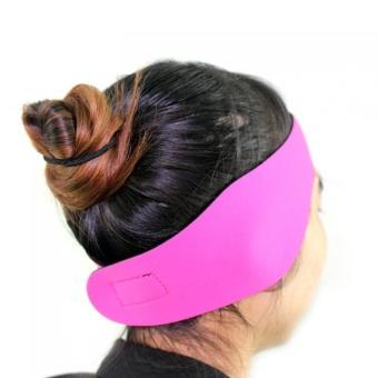 Tahan Air Bernapas Melindungi Telinga Headband Gerakan Yoga Headband dengan HOOk & LOOP untuk Bath/
